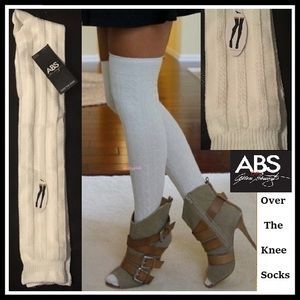 9f6d8ee27 ... Cable Knit Over The Knee Socks Long Thigh High OTK UGG ...